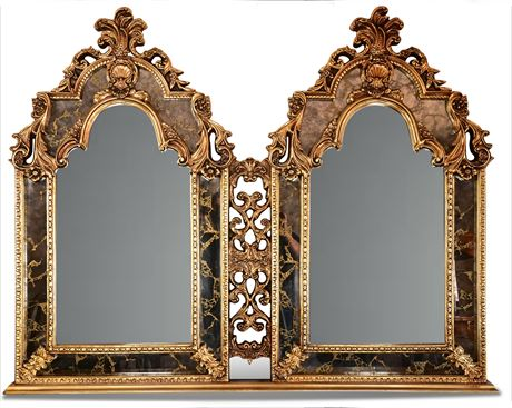 Mid-Century Louis XV Style Mirror