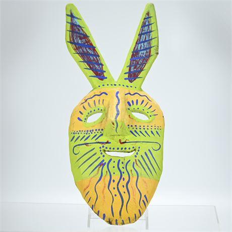 Preciliana Carved Wood Mask