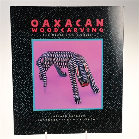 """Oaxacan Wood Carving """"The Magic in The Trees"""""""