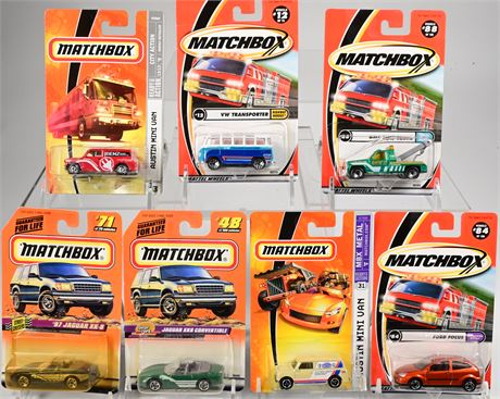 (6) Matchbox Collectible Cars