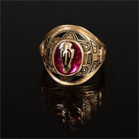 1968 10K GOLD Class Ring