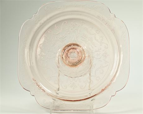 Indiana Glass Recollection Madrid Cake Plate