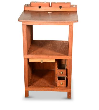 Router Table and Organizer