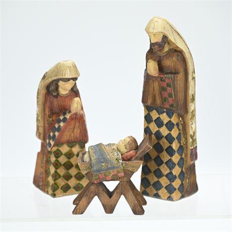 Jim Shore Style Nativity