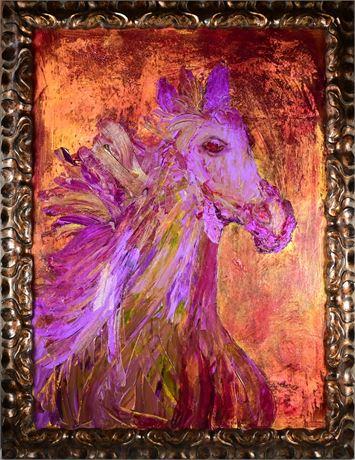 """Susan Loverin Original Oil """"Majesty"""""""