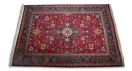 7' x 10' Grand Tapis Meched (Iran) Rug