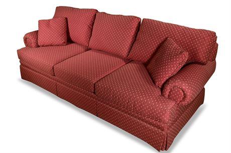 Custom Upholstered Traditional Sofa From Charlotte's