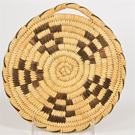 Vintage Papago Basket Plaque