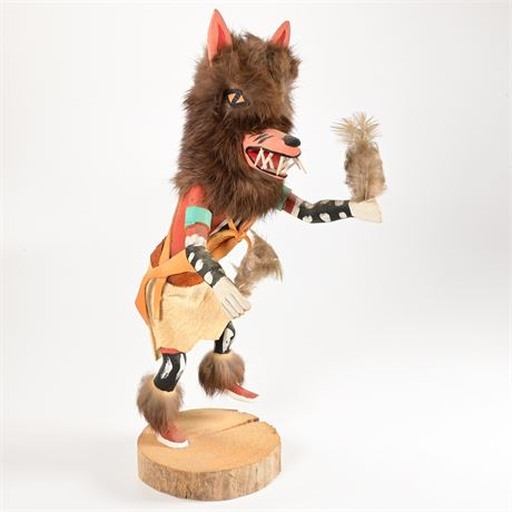 Vintage Wolf Dancer Kachina
