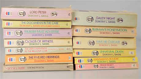 Dorothy L. Sayers Collection of Books