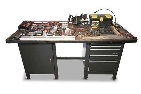Craftsman Deluxe 7 Drawer Workbench +