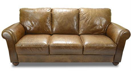 Classic Italian Leather Sofa