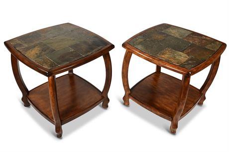 Slate Side Tables