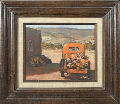 Margaret Tumey Original Oil
