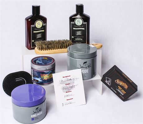 Men's Grooming Package by Red's Barber Shop