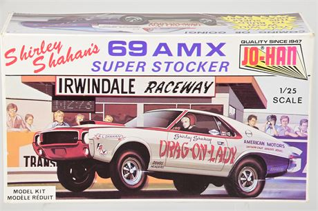 Shirley Shahan's 69 AMX Super Stocker