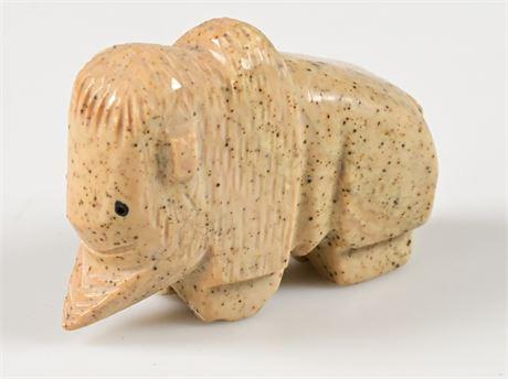 Zuni Carved Buffalo Fetish
