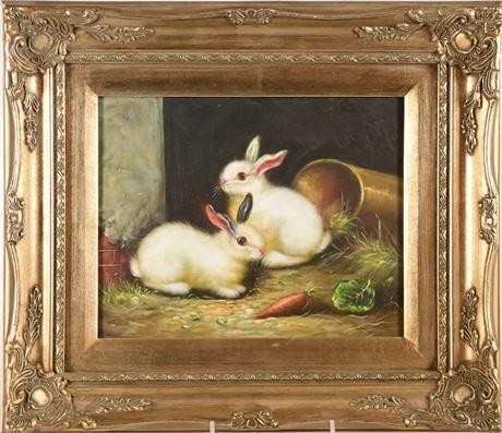Rabbit Painting I