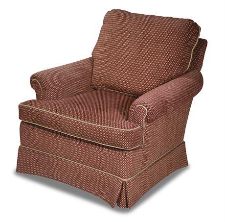 Custom Upholstered Armchair From Charlotte's