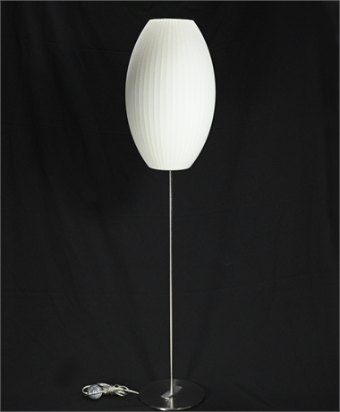 """Bubble Floor Lamp """"Cigar"""" by George Nelson"""