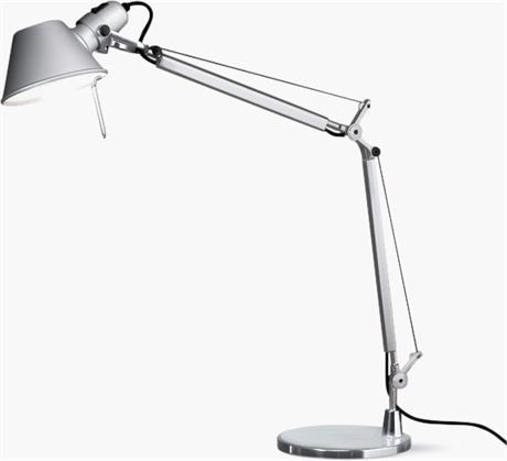 Artemide Tolomeo Mini Table Lamp with Aluminum Base