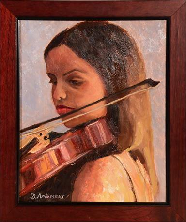 Original Bev Kolosseus Oil on Canvas