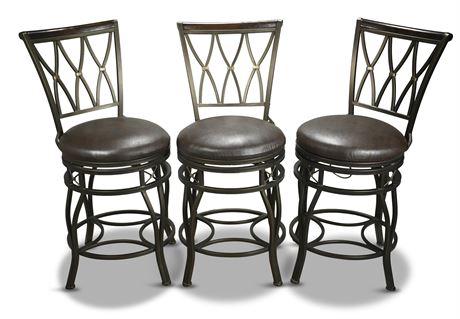 Cheyenne Home Furnishings Swiveling Barstools