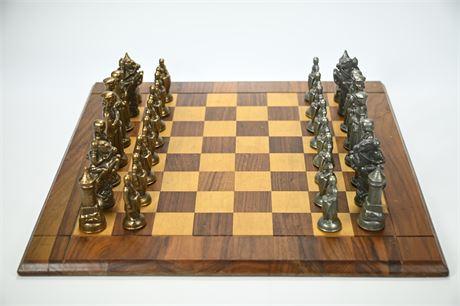 Vintage Drueke Chess Set
