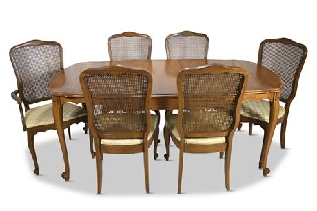 Mid-Century Lenoir Dining Set by Broyhill