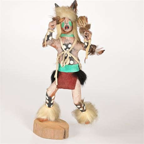 Vintage Buffalo Dancer Kachina