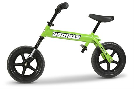 Comically Mis-Assembled Child's Bicycle
