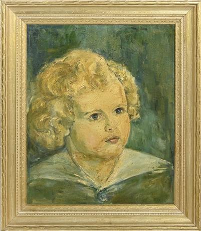Joann Stack Portrait of Child