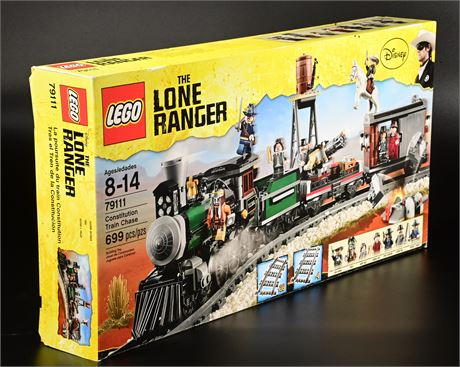 Lego Constitution Train Chase Lone Ranger