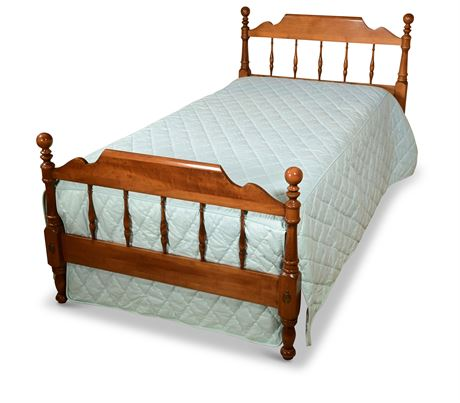 Ethan Allen Twin Bed