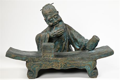 """""""The Librarian"""" Chinese Sculpture"""