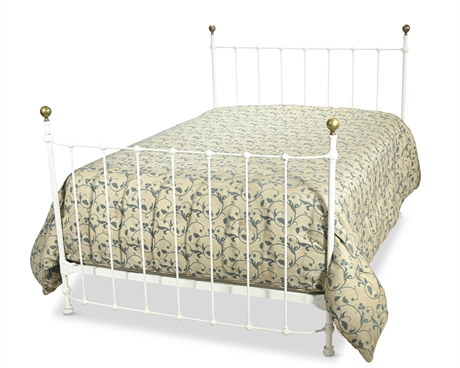 Antique Full Iron Bed