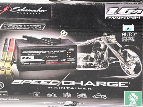 Schumacher Speedcharge SEM-1562A Automatic Battery Charger