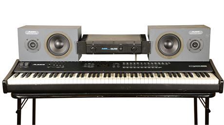Alesis Q58 Keyboard and Sound System