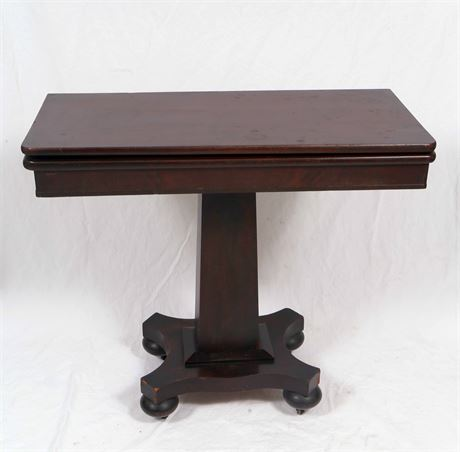 Antique Empire Style Table