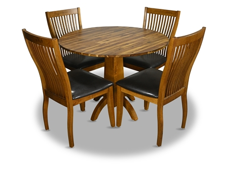 """Winners Only 40"""" Drop Leaf Dining Set"""