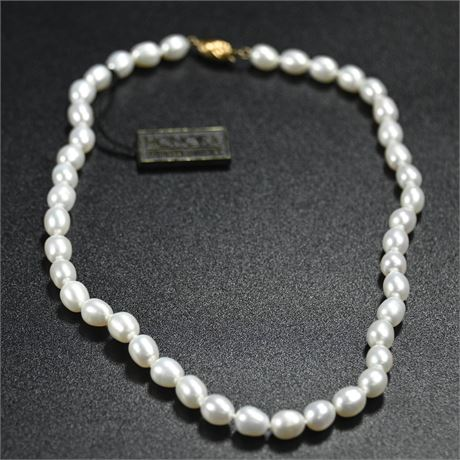 Single Strand Honora Freshwater Pearl Necklace