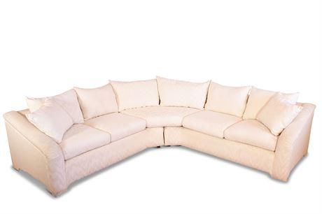 Vintage Sectional Conversation Sofa