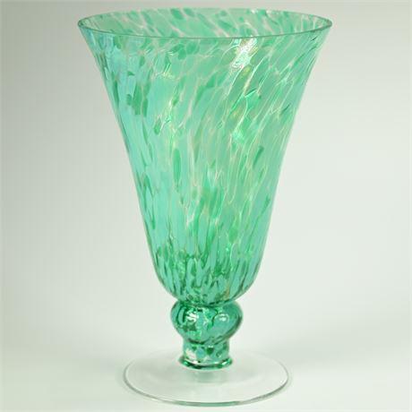 Caribbean Waters Trumpet Vase