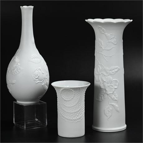 Kaiser Bisque Porcelain Vases