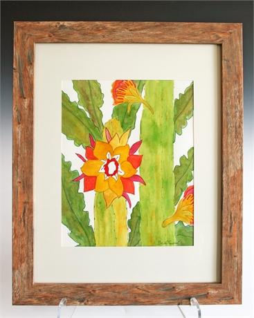 Becki Thomas Saguaro Blooms