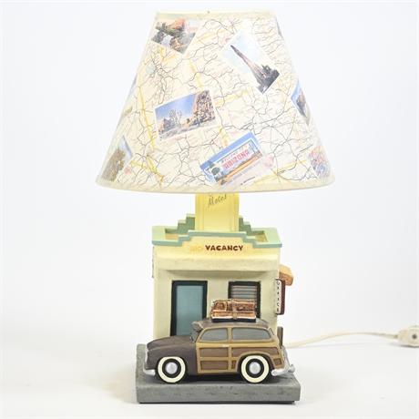 Cozy Motel Desk Lamp