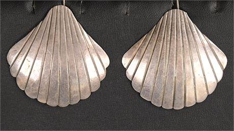Vintage Mexico Sterling Earrings