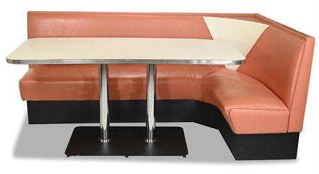 1950's Style Diner Booth