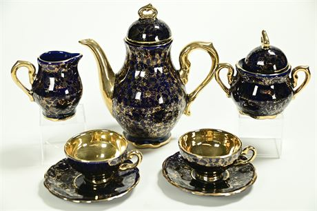 Echt Kobalt Espresso Set