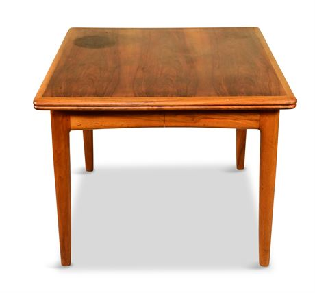 Mid-Century Danish Teak & Rosewood Table